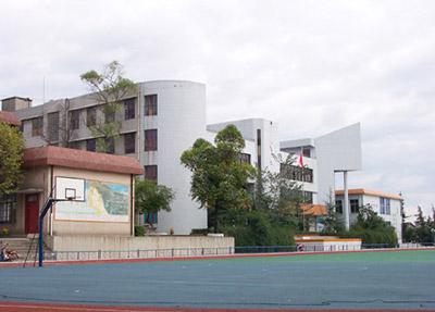 规模宏大的教学区