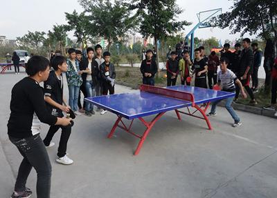 学校小球运动场