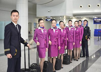 部分在四川航空公司工作的学生