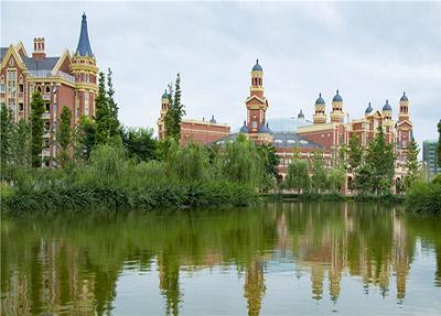 城堡一般的教学楼