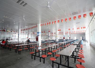 学院食堂整洁