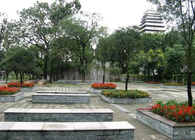 校园小广场