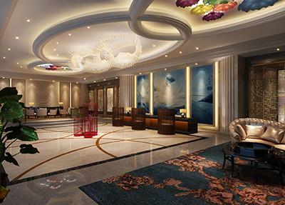 新校区酒店大堂