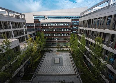 四合院一样的教学楼