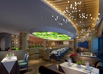 新校区酒店10楼西餐厅