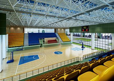 新校区体育馆篮球场馆